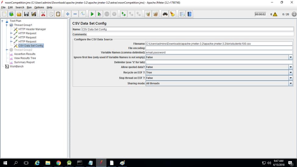 How to setup JMeter and run web services - Liesbeek